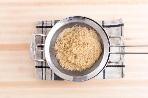 Cook the bulgur: