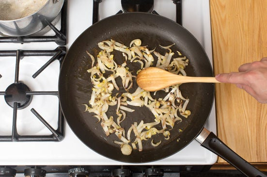Cook the endives:
