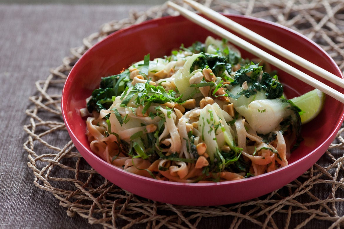 RecipeVegetable Pad Thai with Spicy Peanut SauceBlue Apron