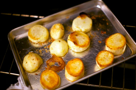 Cook your potatoes: