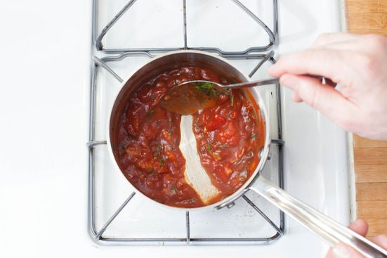 Make the tomato jam: