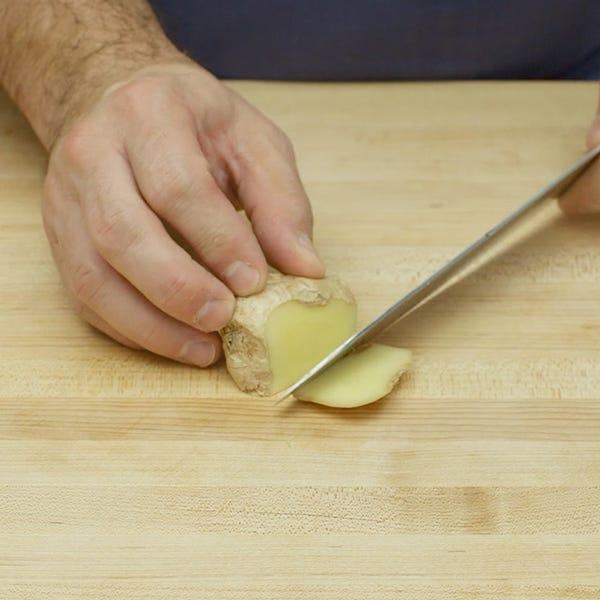 Prep ginger sq