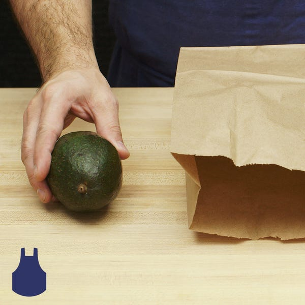 Avocado   ripen in a bag sq