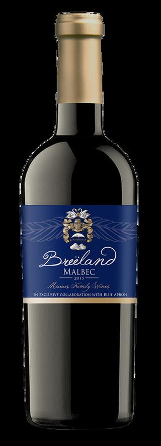 Breëland Wine Cellars bottle
