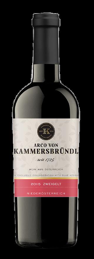 Arco von Kammersbründl bottle
