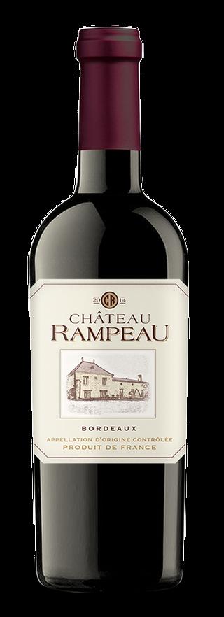 Château Rampeau bottle