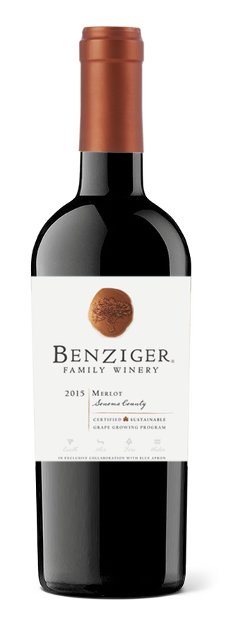 Benziger Family Winery bottle
