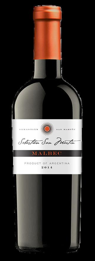 Sebastián San Martín bottle