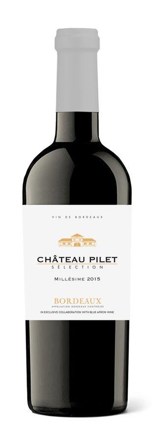 Château Pilet bottle