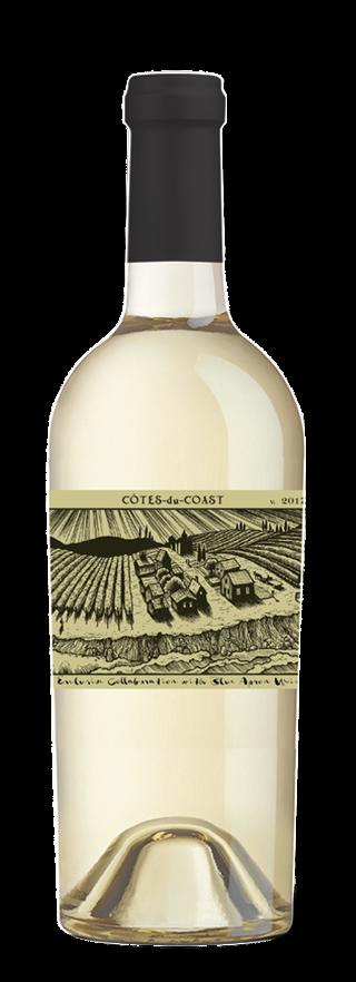 """Sans Liège """"Côtes du Coast"""" bottle"""