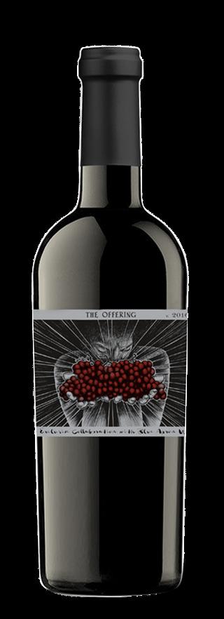 "Sans Liège ""The Offering"" bottle"