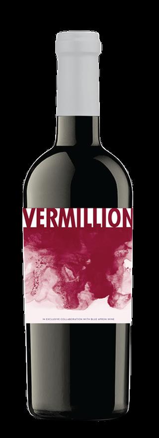 Vermillion bottle