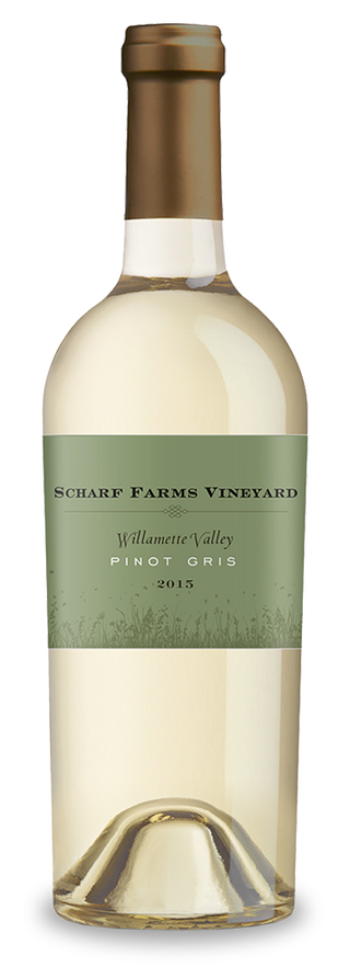 Scharf Farms Vineyard bottle