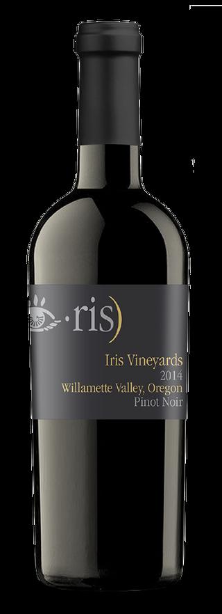 Iris Vineyards bottle